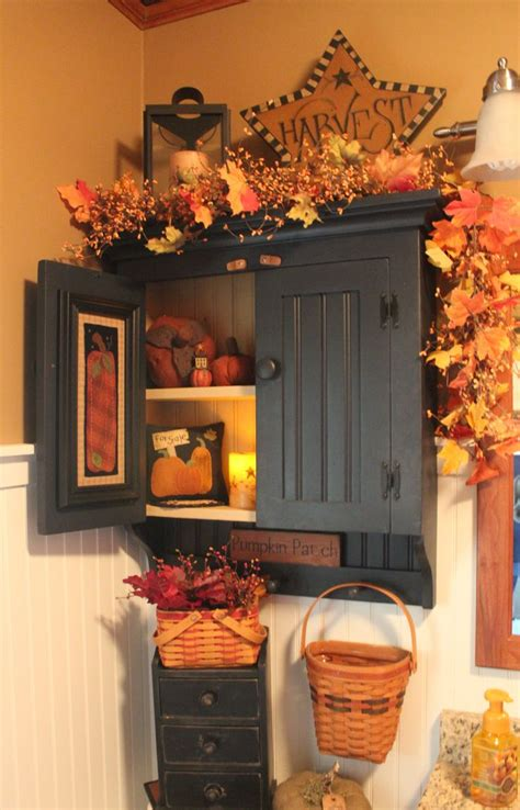 fall kitchen decorating ideas best 25 primitive fall decorating ideas on
