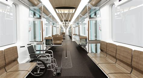 Metro Interiors by Siemens At Uitp 2011 The Future Belongs To Electric
