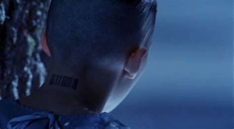 barcode tattoo neck movie what is the meaning behind the barcode tattoo