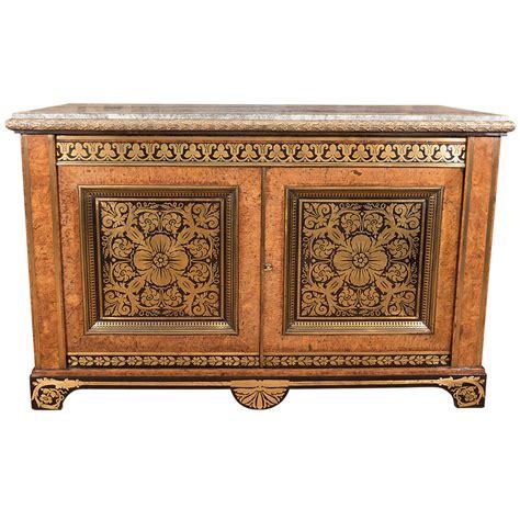 Fantastic Furniture Cabinets by A Fantastic Regency Brass Inlaid Pollard Oak And