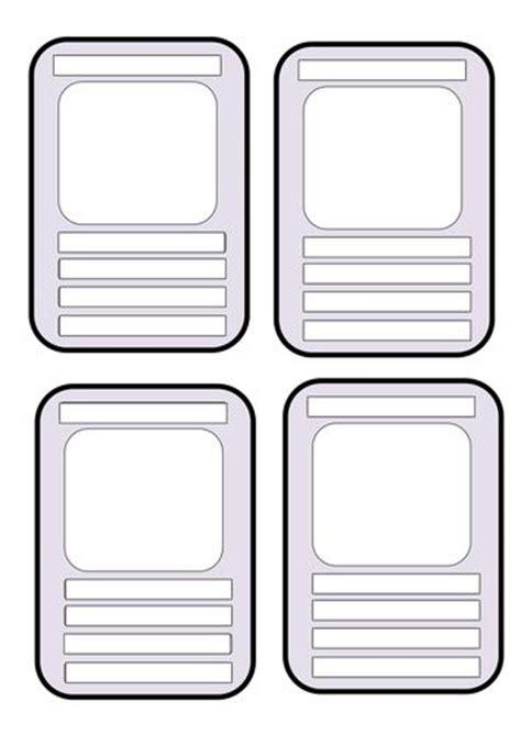 make your own top trumps cards template 17 migliori idee su top trumps su giochi di