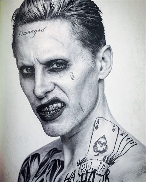 jared leto joker tattoo tutorial tatuajes joker escuadron suicida