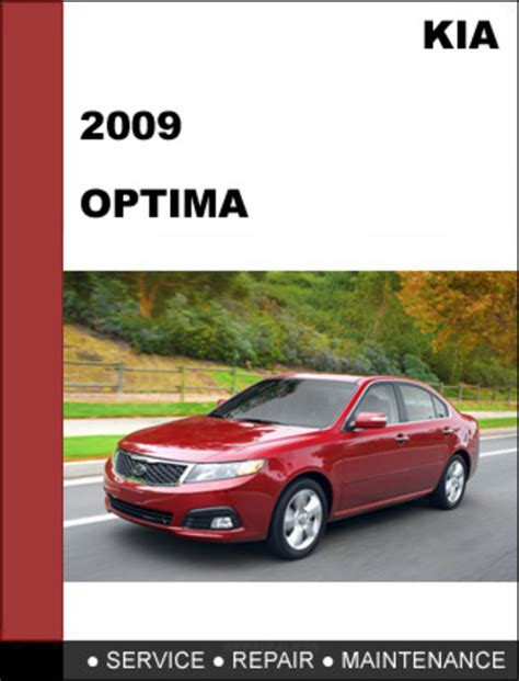free service manuals online 2005 kia optima transmission control kia optima 2009 factory service repair manual download download m