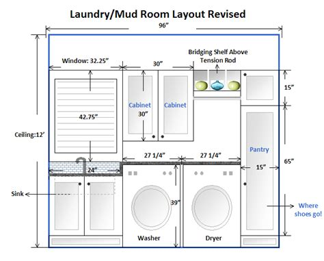Layout For Laundry Room | am dolce vita laundry mud room makeover taking the plunge