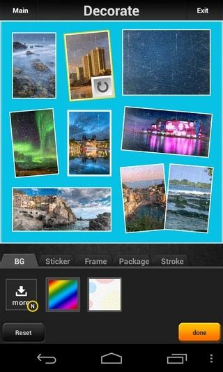 layout android creator picq for android photo collage creator with stylish