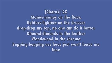 Lyrics Of On The Floor by Money On The Floor W Lyrics Big K R I T