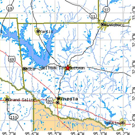 alba texas map quitman texas tx population data races housing economy