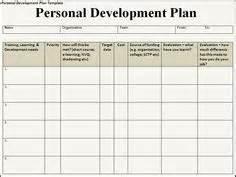 individual development plan template word search