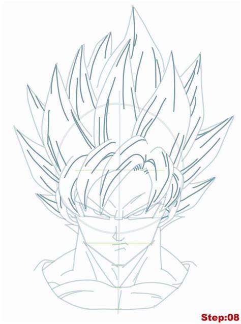 Drawing Goku 25 best ideas about how to draw goku on goku