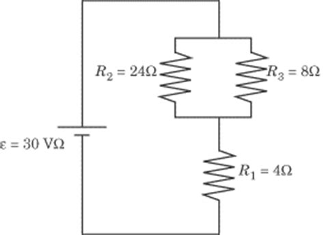 physics resistors in series and parallel problems circuits kirchhoffs voltmeters and ammeters