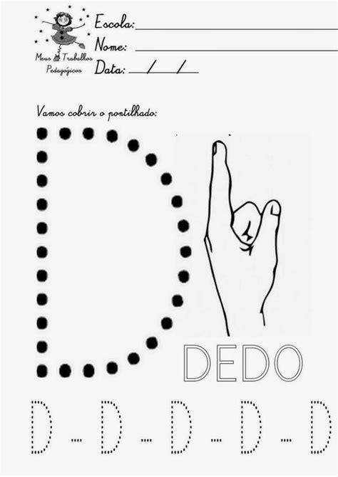 ALFABETO PONTILHADO PARA COLORIR: Para Imprimir!