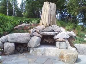 Menards Outdoor Fire Pit - boulder fire pit ideas fire pinterest traditional fire pits and photos