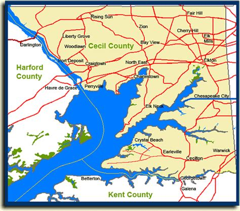 Cecil County Search Cecil County Maryland Proposed Subdivision Maps August 2005