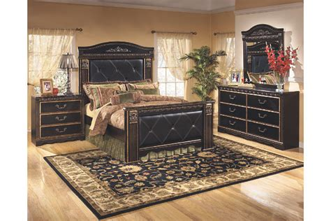 coal creek king mansion bed ashley furniture homestore