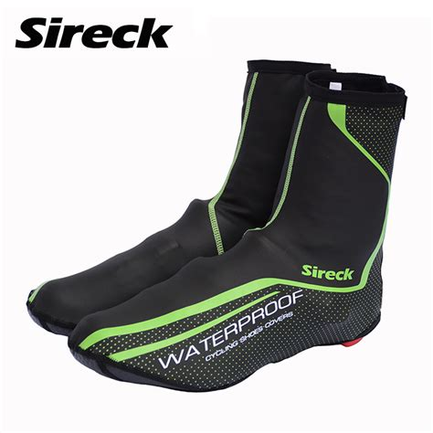 road bike shoe covers sireck cycling shoe cover copriscarpe ciclismo waterproof
