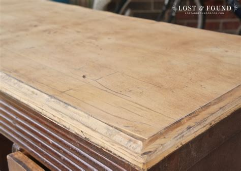 how to refinish a table top applying stain how to refinish a table top or dresser