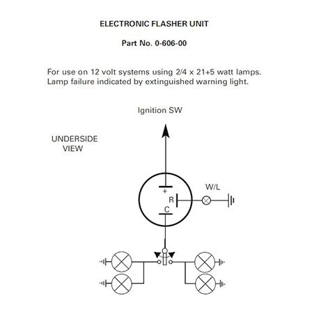 12v 2 terminal flasher wiring diagram car flasher wiring