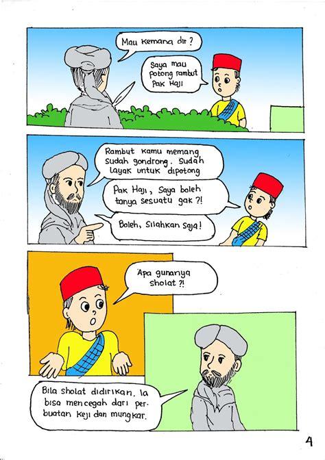 gambar kartun muslimah  sholat gambar kartun
