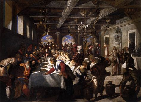 Wedding At Cana Tintoretto marriage at cana tintoretto wikiart org encyclopedia