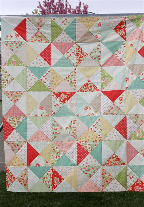 How To Make A Simple Quilt For Beginners by Easy Bricks Quilt Tutorial Diary Of A Quilter A Quilt