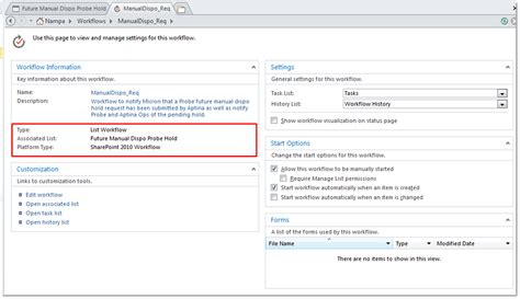 sharepoint list workflow why is my custom workflow not being shown in the