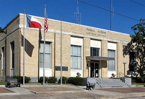 Goose Creek Post Office houston deco 1930s goose creek federal building and