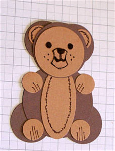 How To Make Paper Teddy - papercraft 2