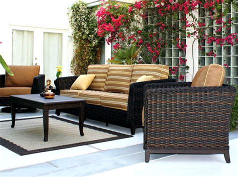 patio renaissance catalina wicker outdoor sofa furniture
