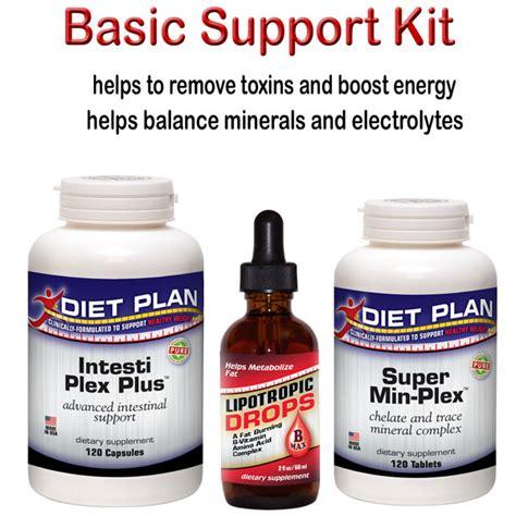 Kit Detox Bh by Basic Hcg Diet Support Kit P Sup Basic