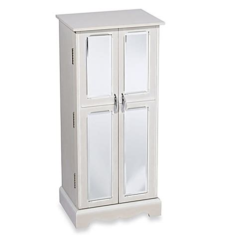 chelsea jewelry armoire hives honey chelsea jewelry armoire in white bed bath