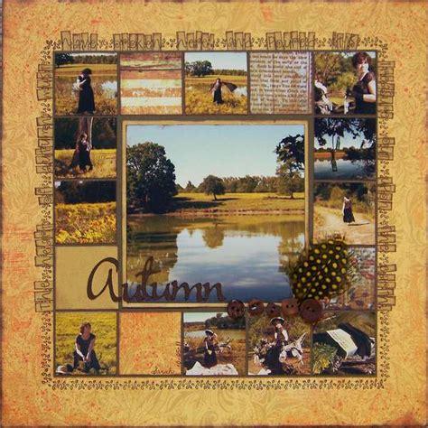 multiple photo layout ideas layout autumn