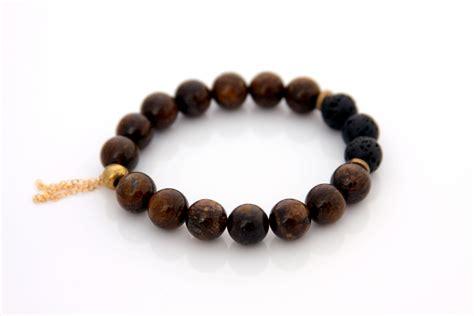 Handmade Gemstone Bracelets - bronzite gemstone bracelet handmade jewelry by designer