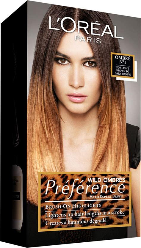 preference ombre on hair ombre hair diy mit pr 233 f 233 rence wild ombr 233 s von l or 233 al