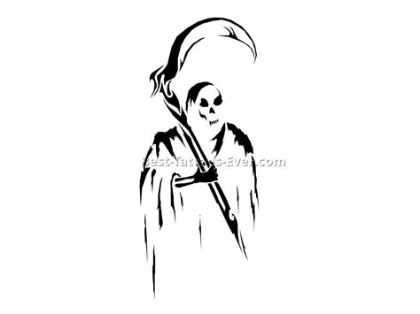 simple grim reaper tattoo drawings nocturnal