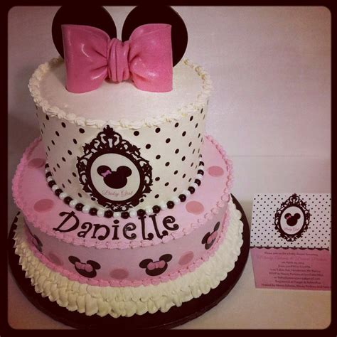 Baby Shower Minnie Mouse Cake by Minnie Mouse Baby Shower Cake Cakecentral