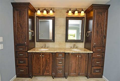 custom bathroom cabinets design ideas to remodeling or