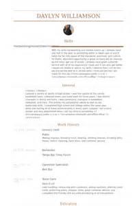 Grocery Clerk Resume by Lebensmittelgesch 228 Ft Schreiber Cv Beispiel Visualcv Lebenslauf Muster Datenbank