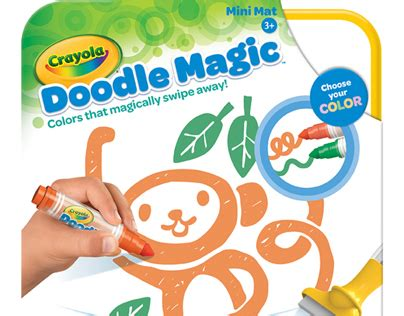 how to use doodle magic markers crayola doodle magic on behance