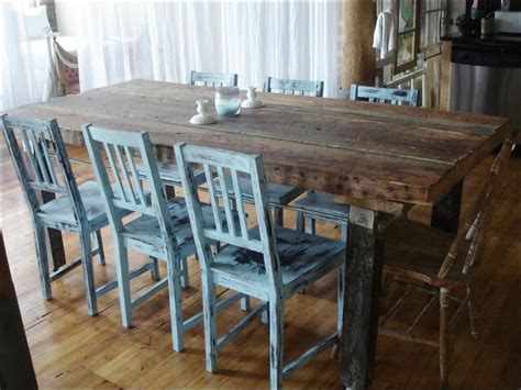 Rustic Formal Dining Table Kitchen Rustic Dining Set Formal Dining Room Sets Breakfast Igf Usa