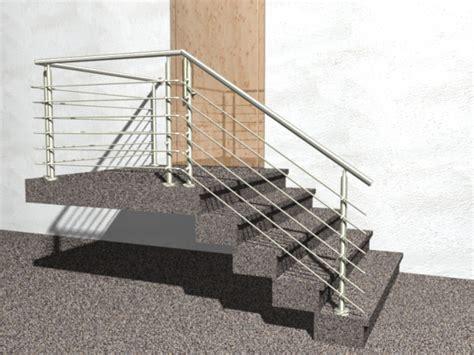 handläufe aus edelstahl gel 228 nder treppe mit podest und abschluss mit edelstahl