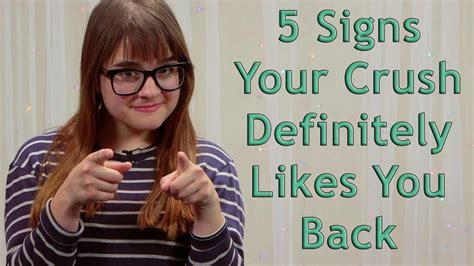 8 Signs You Are Crushing On The Boy Next Door by 5 Signs Your Crush Definitely Likes You Back