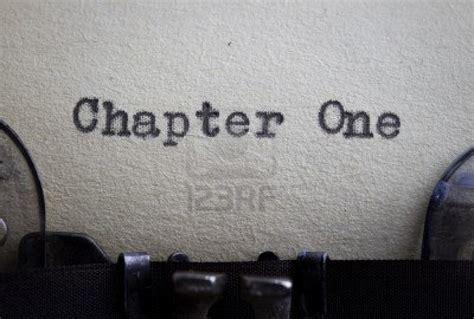 one chapter why i write