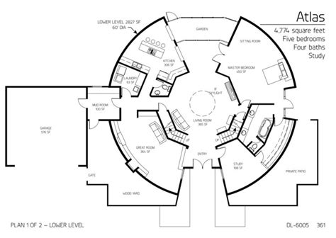 round garage plans 1000 images about round homes on pinterest house plans