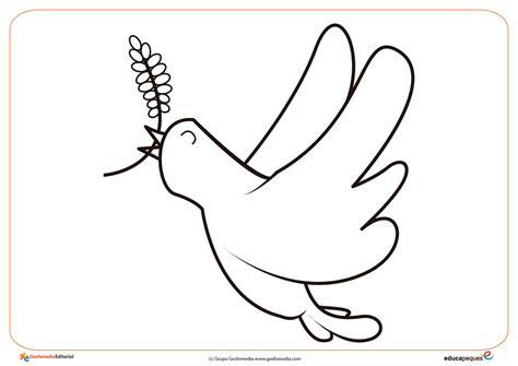imagenes infantiles sobre la paz 2 ficha del d 237 a de la paz paloma de la paz