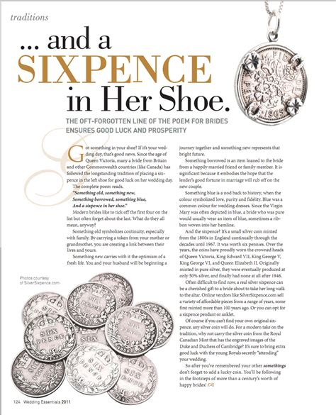 sixpence in shoe silver sixpence in the press