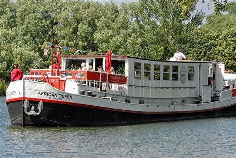 thames river cruise african queen 2nt african queen boat hotel cruise
