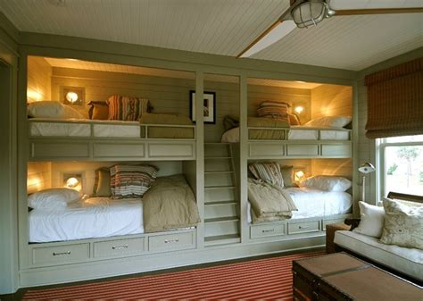 Built In Bunk Bed Ideas Tremendous Built In Bunk Beds Decorating Ideas