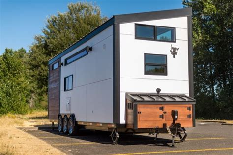 tiny house innovations catalina tiny house on wheels boasts interior of full size
