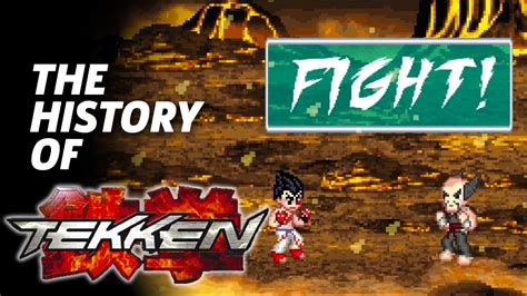 the official history of the official history of tekken in 8 bit codejunkies