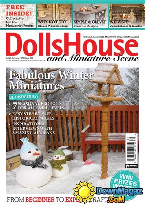 dolls house and miniature scene dolls house and miniature scene 01 2017 187 download pdf magazines magazines commumity